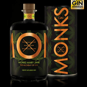 Monks Gin Mary Jane (Hemp Infused) Gin