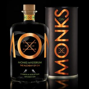 Monks Gin Mysterium (Fynbos & Sceletium Infused) Gin